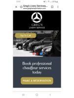 Logo Greg's livery services inc