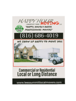 Logo Happy Hour Moving LLC