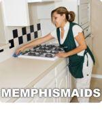 Logo Memphis Maids