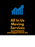 Logo All in Us Moving Services