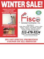 Logo Fisco General Contractor, Inc.