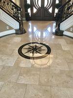 Logo Mosaic Flooring