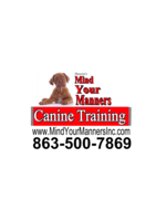 Logo Mind Your Manners Canine Training