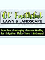 Logo OL Faithful Lawn & Landscaping