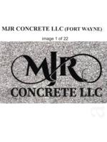 Logo MJR CONCRETE LLC