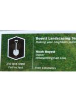 Logo Boyett Landscaping Solutions