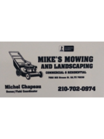 Logo Mike Mowing and Landscaping
