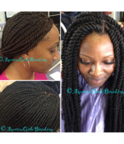 Logo African American Hair Braiding