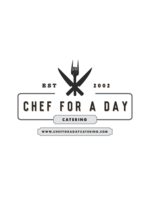 Logo Chef for a Day Catering