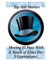 Logo TOP HAT MOVING