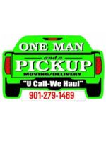 Logo One Man and a Pickup, Moving/Delivery