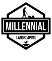 Logo Millennial Landscaping