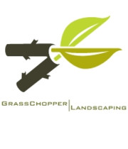 Logo GrassChopper Landscaping, INC
