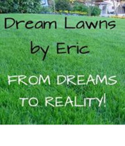 Logo Dream Lawns by Eric
