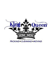 Logo A MIGHTY KING WITH A TIDY QUEEN LLC