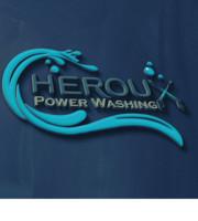 Logo Heroux Power Washing