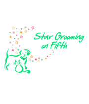 Logo Star Grooming on Fifth