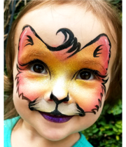 Logo Face Painting by Elisabeth