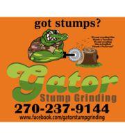 Logo Gator Stump Grinding