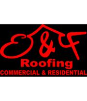 Logo E&F Roofing