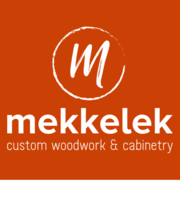 Logo Mekkelek Custom Woodwork & Cabinetry