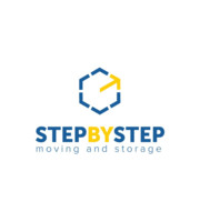 Logo Step By Step Moving and Storage