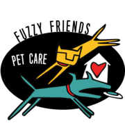 Logo Fuzzy Friends Pet Sitting