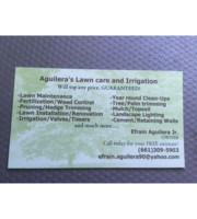 Logo Aguilera's Lawn care & Irrigation