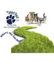 Logo Tamed Paws