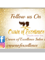Logo Crown of Excellence Salon and Spa