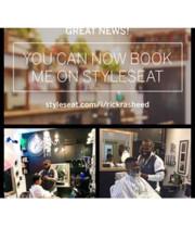Logo Men's hair grooming studio