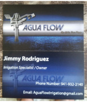 Logo AGUA FLOW irrigation service
