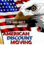 Logo American Discount Moving / Moves  R Us