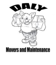 Logo Daly Movers and Maintenance