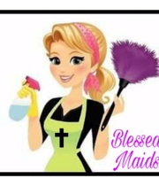 Logo Blessed maids