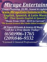 Logo Mirage Entertainment DJ & MC Service