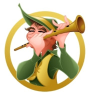 Logo The Pied Piper - Professional Wildlife Management