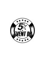 Logo Five Star Event DJ
