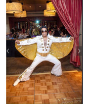 Logo Elvis Presley Impersonator Tribute Artist
