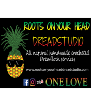 Logo Roots on your Head Dread Studio