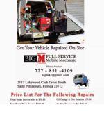 Logo Big M Mobile Mechanic Service