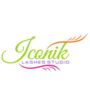 Logo Iconik Lashes Studio