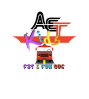 Logo AET Kids Fit & Fun Bus