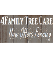Logo 4family Tree Care & Fencing