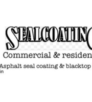 Logo Seal coating & blacktop repair & mason work
