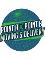 Logo Point A to Point B Moving