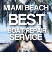 Logo Boat Repair Miami Beach