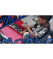 "Logo ""The Shop"" MOBILE Automotive"