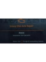 Logo Greasy Elbo Auto Repair