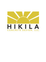 Logo Hikila Concrete Design, LLC.